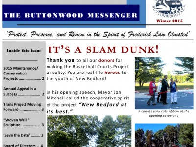 portion of a Buttonwood Messenger newsletter